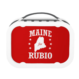 MAINE FOR RUBIO LUNCH BOXES