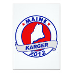 Maine Fred Karger Custom Invitation