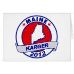 Maine Fred Karger Greeting Card