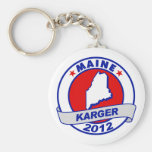 Maine Fred Karger Key Chain
