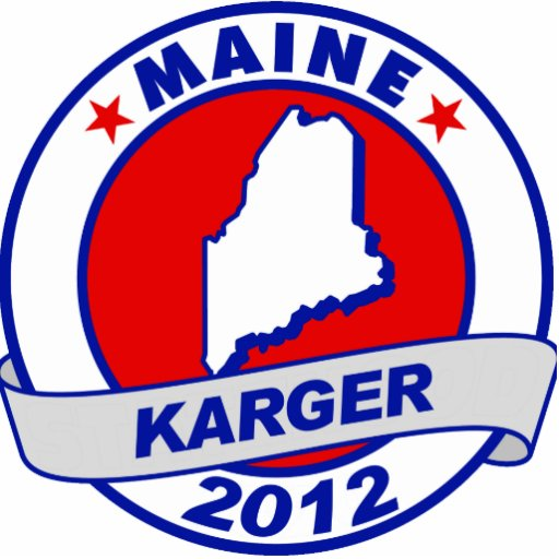 Maine Fred Karger Acrylic Cut Outs