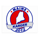 Maine Fred Karger Postcards