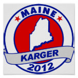 Maine Fred Karger Print