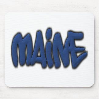 Maine Graffiti Mousepad