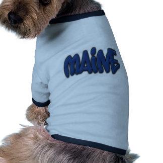 Maine Graffiti Pet Tshirt
