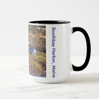 Maine Harbor Seals Boothbay Harbor Mug