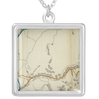 Maine Highlands Silver Plated Necklace