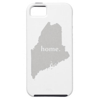 Maine home silhouette state map case for the iPhone 5