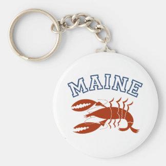 Maine Key Ring