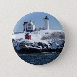 Maine Lighthouse 4 6 Cm Round Badge