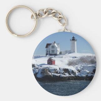 Maine Lighthouse 4 Key Ring
