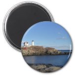 Maine Lighthouse 6 Cm Round Magnet