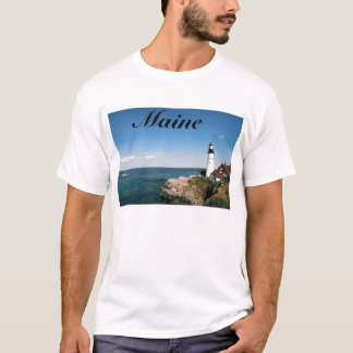 Maine Lighthouse at Portland Head T-Shirt