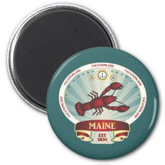 Maine Lobster Crest Magnet