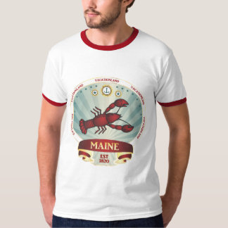 Maine Lobster Crest T-Shirt