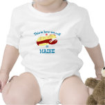 Maine Lobster Roll Bodysuits