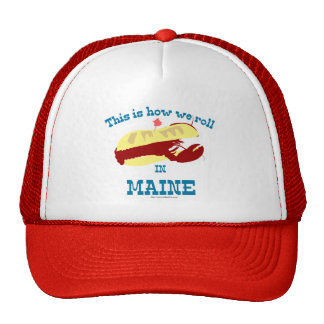 Maine Lobster Roll Cap