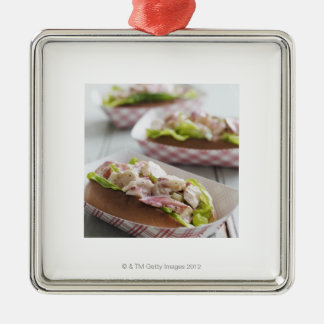 Maine Lobster Roll Christmas Ornament