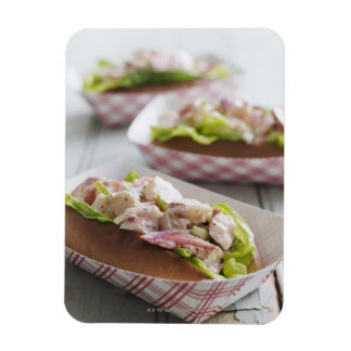 Maine Lobster Roll Magnet