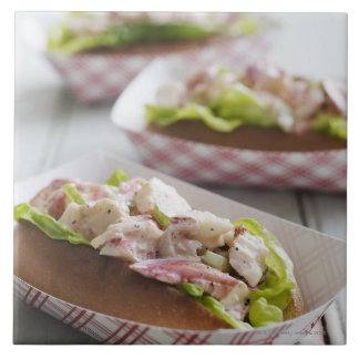 Maine Lobster Roll Tile