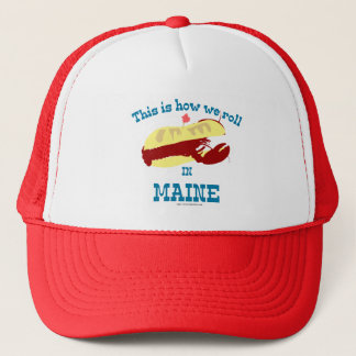 Maine Lobster Roll Trucker Hat