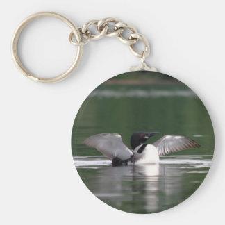 Maine Loon Key Ring