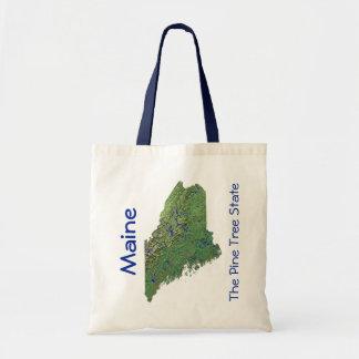 Maine Map Bag