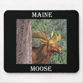 Maine Moose Mouse Mat