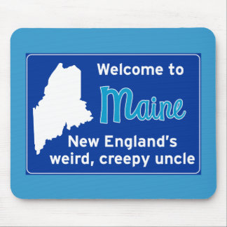 Maine Mouse Pad