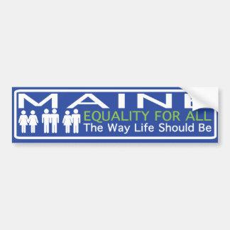 Maine Moving Forward Bumper Sticker