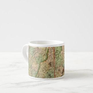 Maine, New Hampshire, Vermont, Massachusetts Espresso Cup