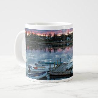 Maine, Newagen, sunset harbor 2 2 Large Coffee Mug