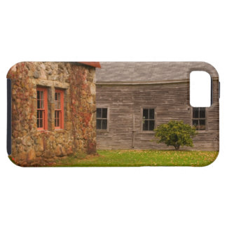 Maine,  Old stone building and wooden barn in iPhone 5 Covers