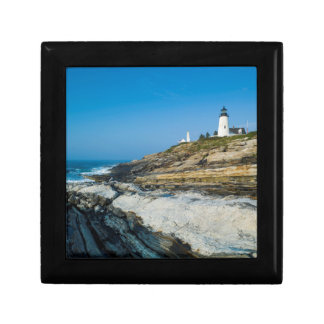 Maine, Pemaquid Point, Pemaquid Point Lighthouse Gift Box