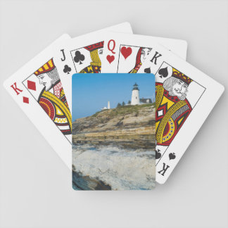 Maine, Pemaquid Point, Pemaquid Point Lighthouse Playing Cards