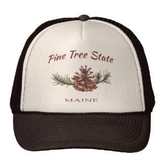 Maine Pine Cone Cap