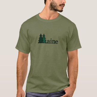 Maine Pine Trees T-Shirt