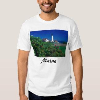 Maine Portland Head Lighthouse Tee Shirt
