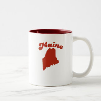 MAINE Red State Mug