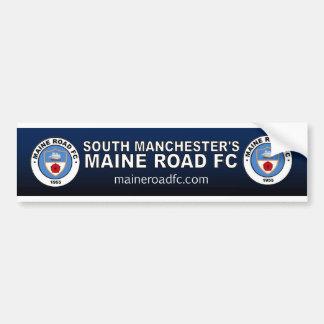 Maine Road FC (Car 'Bumper' Sticker) Bumper Sticker