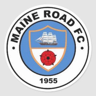 Maine Road FC sticker (not car)