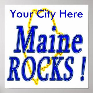 Maine Rocks ! Poster