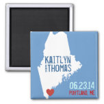 Maine Save the Date - Customisable City
