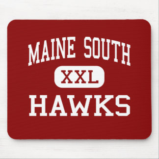 Maine South - Hawks - High - Park Ridge Illinois Mouse Pad