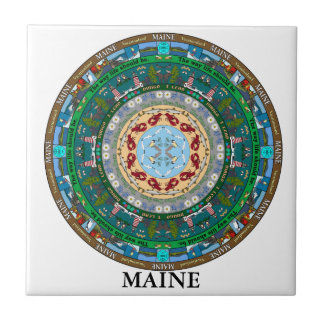 Maine State Ceramic Tile