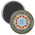 Maine State Mandala Magnet