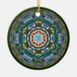 Maine State Mandala Ornament