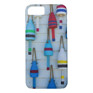 Maine, Stonington, decorative lobster buoys iPhone 7 Case