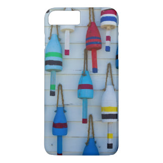 Maine, Stonington, decorative lobster buoys iPhone 8 Plus/7 Plus Case