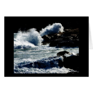 Maine Surf Note Card